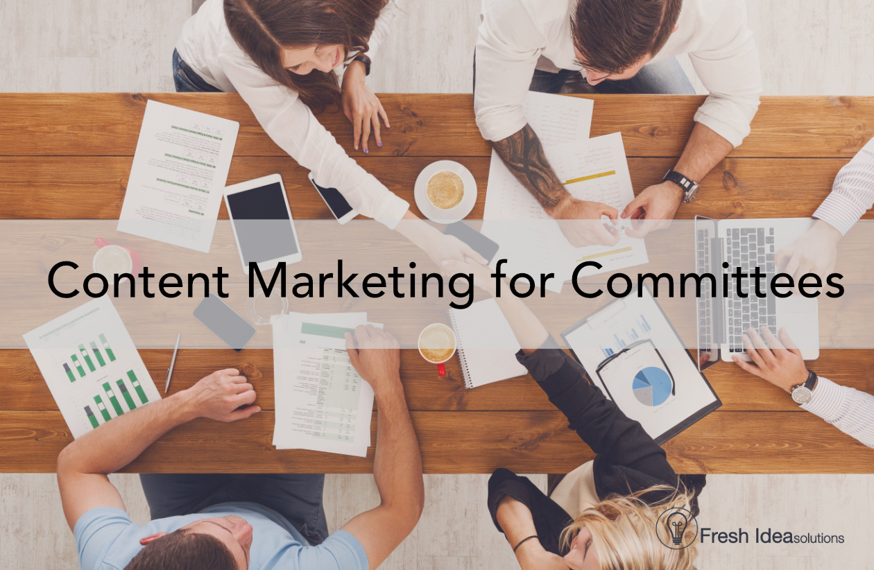 How to Use Content Marketing for Nonprofit Committees