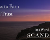 Ways to earn brand trust through content marketing. Be the lighthouse guiding people to the truth.