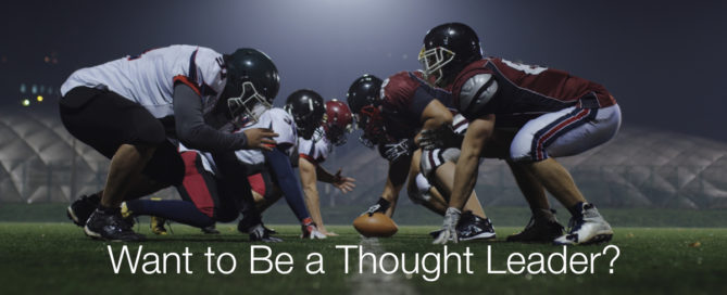 What to be a thought leader? Perfect career is not required.